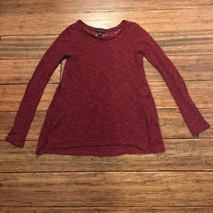American Eagle Sweater Lace Back